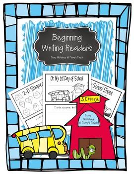 Emergent Readers for the Beginning of School