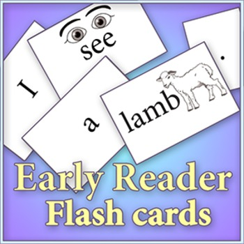 "Am, An, At sounds - Cut and color ""Early Reader"" flash cards"