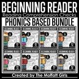Beginning Reading Comprehension Checks  GOOGLE READY SLIDE