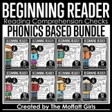Beginning Reader Comprehension Checks  BUNDLE GOOGLE SLIDES / DISTANCE LEARNING