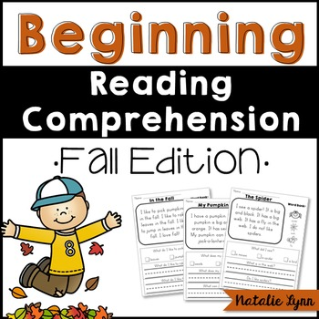 Beginning Reading Comprehension - Fall Edition