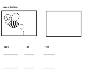 Beginning Reading, Drawing and Writing Skills