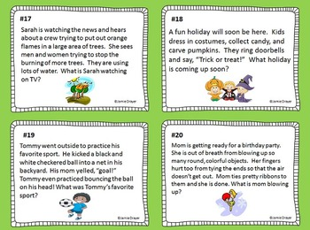 Emergent Readers Inference Cards: Using Pictures as Context Clues