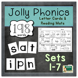 Beginning Reading Letter Cards & Sound Mats | Jolly Phonic