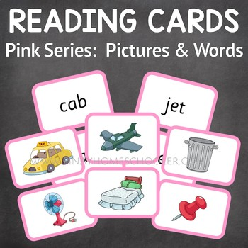 Beginning Reading Pink Series:  100 Pictures and Words