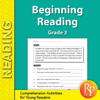 Beginning Reading (Reading Level 3)