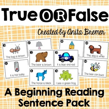 Beginning Reading Sentences