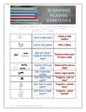 Beginning Reading Strategies: a bilingual printable for pa