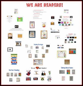 Beginning Reading and Writing Prezi Bundle