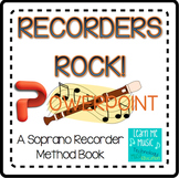 "Beginning Recorder Method Book Coordinating PPT - ""Recorders Rock"""