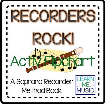 """Beginning Recorder Method Coordinating Flipchart - """"Recorders Rock"""""""