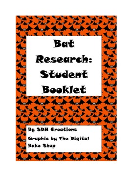 Beginning Research Booklet: Bats