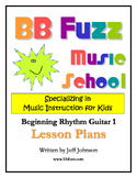 Beginning Rhythm Guitar 1 - Lesson Plans
