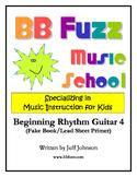 Beginning Rhythm Guitar 4