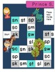 Consonant Blends - Beginning S Blends Board Game - Prince S. Saves the Day