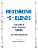 "Beginning ""S"" Blends: Build and Sort"