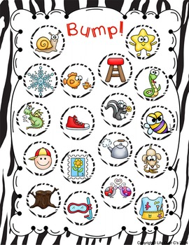 Beginning 'S' Blends  Bump! game for Phonemic Awareness