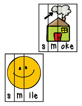 Beginning S-Blends Word Puzzles