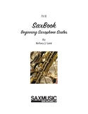 Beginning Saxophone Scales Book