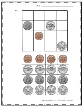 Beginning Sudoku with a Money or Coin Theme