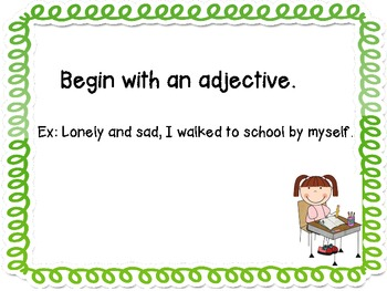 Beginning Sentences in Different Ways