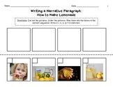 Beginning Sequence Paragraph - How to Make Lemonade