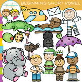 Beginning Short Vowel Clip Art