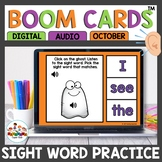 Beginning Sight Word Practice Boom Cards