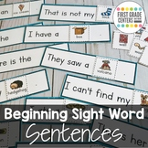 Sight Word Sentences Literacy Center