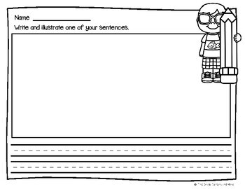 Sight Word Sentences Literacy Center