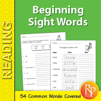 Beginning Sight Words