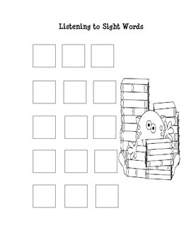 Beginning Sight Words Packet