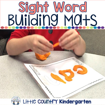 Beginning Sight Words Playdough Mats