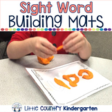 Autism or Kindergarten: Beginning Sight Words Playdough Mats