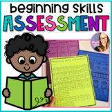 Beginning Skills Assessment- Back to School (K-1)
