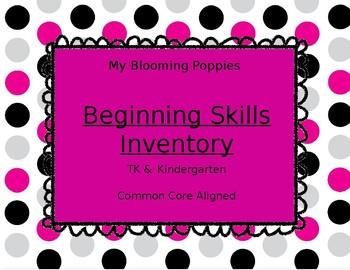Beginning Skills Inventory