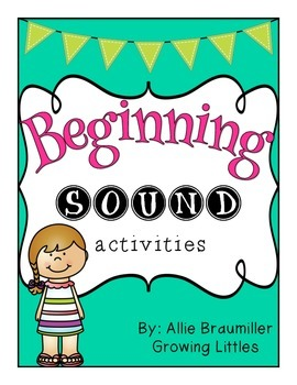 Beginning Sound Activities