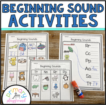 Beginning Sound Activities Spiral Review