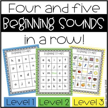 Beginning Sound Activities BUNDLE