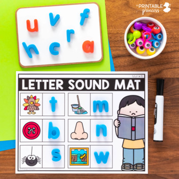 Beginning Sounds and Letter Sounds Activities BUNDLE