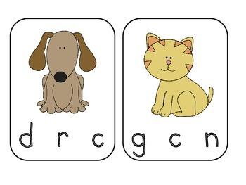 Beginning Sound Activity (Consonants) for Beginning Readers!