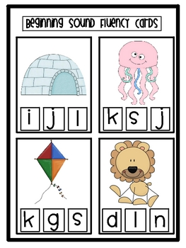 Beginning Sound Activity and Assessment