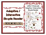 Beginning Sound Adapted Interactive Reader Bundle - 26 Let
