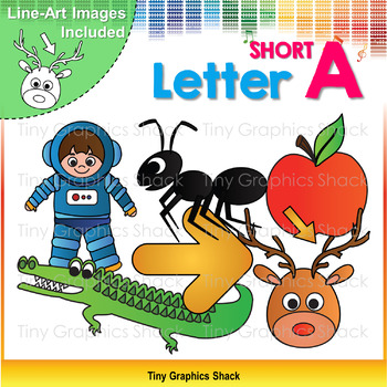 Beginning Sound Short A Clip Art