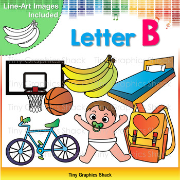 Beginning Sound Alphabet B Clip Art