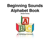 Beginning Sound Alphabet Book (Simple Frames)