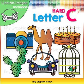 Beginning Sound Alphabet C Clip Art