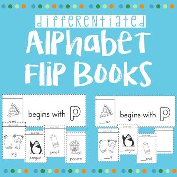Beginning Sound Alphabet Flip Books