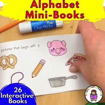 Beginning Sound/Alphabet Letter Fluency Mini-books for each letter