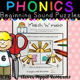 Beginning Sound Alphabet Puzzlers